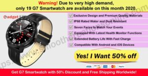 G7Smartwatch-Where to buy gadget