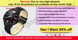 Gx SmartWatch Where to Buy