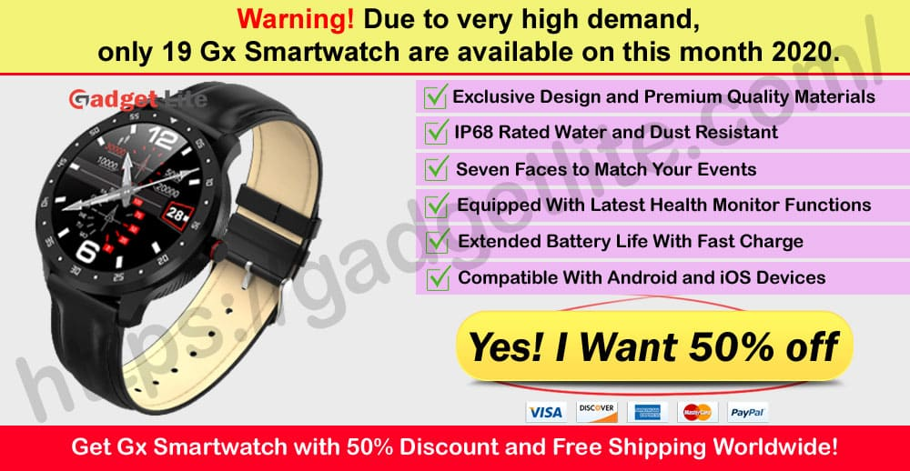 Gx SmartWatch Where to Buy